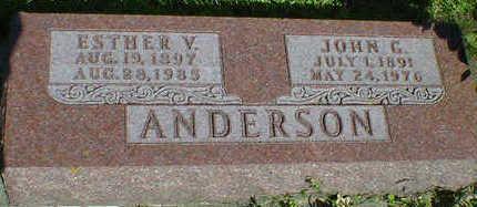 ANDERSON, ESTHER V. - Cerro Gordo County, Iowa | ESTHER V. ANDERSON