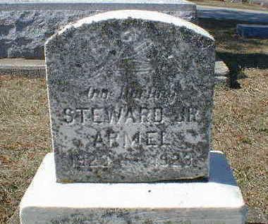 ARMEL, STEWARD JR. - Cerro Gordo County, Iowa   STEWARD JR. ARMEL