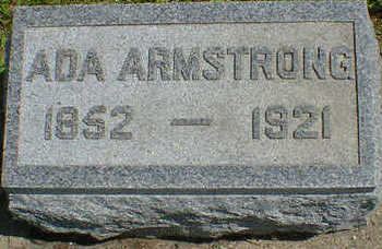 ARMSTRONG, ADA - Cerro Gordo County, Iowa | ADA ARMSTRONG