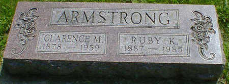 ARMSTRONG, CLARENCE M. - Cerro Gordo County, Iowa | CLARENCE M. ARMSTRONG
