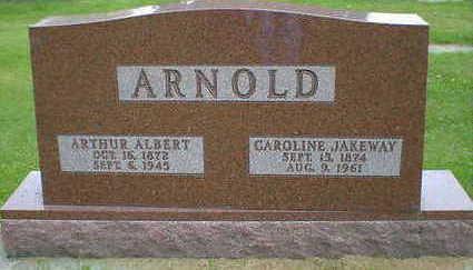 JAKEWAY ARNOLD, CAROLINE - Cerro Gordo County, Iowa | CAROLINE JAKEWAY ARNOLD