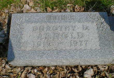 ARNOLD, DOROTHY D. (HOWE) - Cerro Gordo County, Iowa   DOROTHY D. (HOWE) ARNOLD
