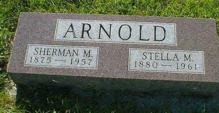 ARNOLD, SHERMAN M. - Cerro Gordo County, Iowa | SHERMAN M. ARNOLD