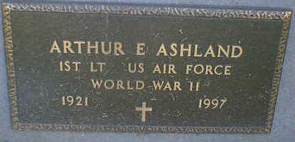 ASHLAND, ARTHUR E. - Cerro Gordo County, Iowa   ARTHUR E. ASHLAND