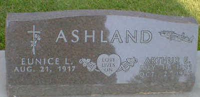 ASHLAND, ARTHUR E. - Cerro Gordo County, Iowa | ARTHUR E. ASHLAND