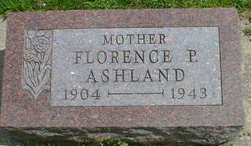 ASHLAND, FLORENCE P. - Cerro Gordo County, Iowa | FLORENCE P. ASHLAND