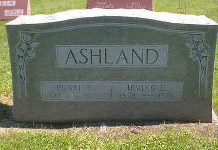ASHLAND, IRVING H. - Cerro Gordo County, Iowa   IRVING H. ASHLAND