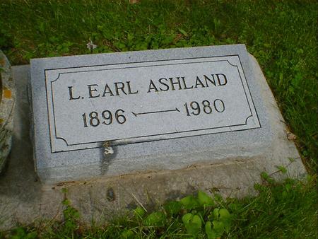 ASHLAND, L. EARL - Cerro Gordo County, Iowa | L. EARL ASHLAND