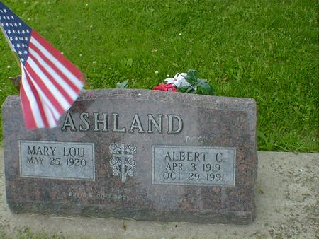 ASHLAND, MARY LOU (FREUDENBERG) - Cerro Gordo County, Iowa | MARY LOU (FREUDENBERG) ASHLAND
