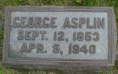 ASPLIN, GEORGE - Cerro Gordo County, Iowa | GEORGE ASPLIN