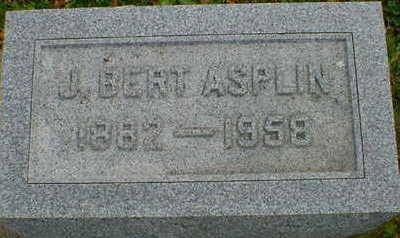 ASPLIN, J. BERT - Cerro Gordo County, Iowa | J. BERT ASPLIN