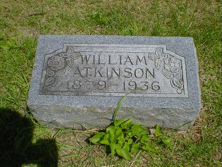 ATKINSON, WILLIAM - Cerro Gordo County, Iowa | WILLIAM ATKINSON