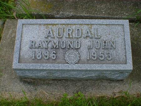 AURDAL, RAYMOND JOHN - Cerro Gordo County, Iowa | RAYMOND JOHN AURDAL