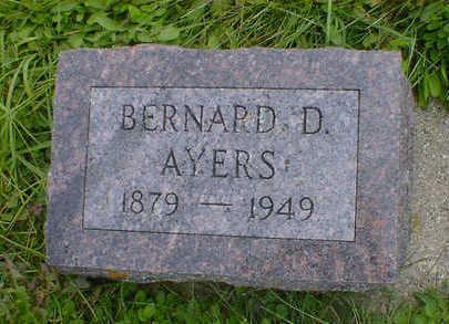 AYERS, BERNARD D. - Cerro Gordo County, Iowa | BERNARD D. AYERS