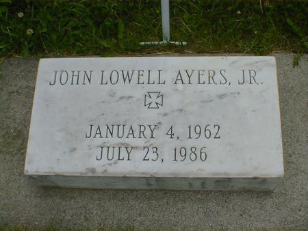 AYERS, JOHN LOWELL, JR. - Cerro Gordo County, Iowa | JOHN LOWELL, JR. AYERS
