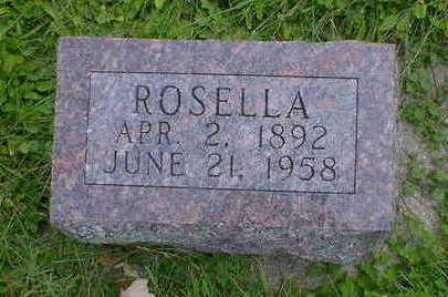 AYERS, ROSELLA - Cerro Gordo County, Iowa   ROSELLA AYERS