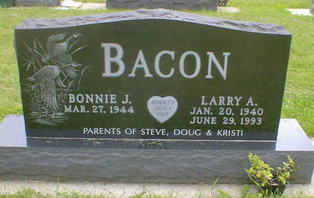 BACON, LARRY A. - Cerro Gordo County, Iowa | LARRY A. BACON
