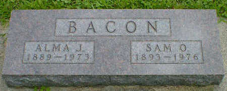 BACON, ALMA J. - Cerro Gordo County, Iowa | ALMA J. BACON