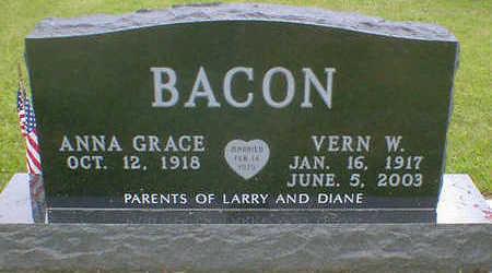 BACON, VERN W. - Cerro Gordo County, Iowa | VERN W. BACON
