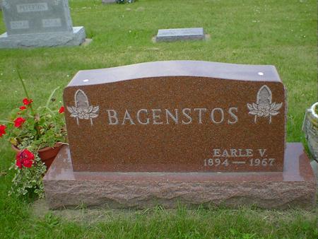 BAGENSTOS, EARLE V. - Cerro Gordo County, Iowa | EARLE V. BAGENSTOS