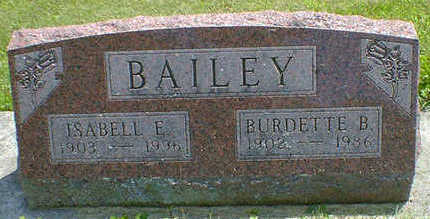 BAILEY, ISABELL E. - Cerro Gordo County, Iowa | ISABELL E. BAILEY