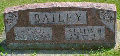 BAILEY, WILLIAM H. - Cerro Gordo County, Iowa | WILLIAM H. BAILEY