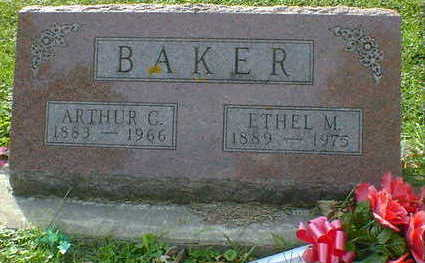 BAKER, ARTHUR C. - Cerro Gordo County, Iowa | ARTHUR C. BAKER