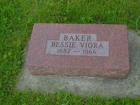 BAKER, BESSIE VIORA - Cerro Gordo County, Iowa | BESSIE VIORA BAKER