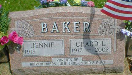 BAKER, CHADD L. - Cerro Gordo County, Iowa   CHADD L. BAKER