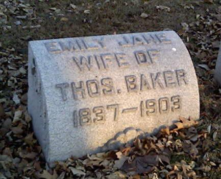BAKER, EMILY - Cerro Gordo County, Iowa | EMILY BAKER