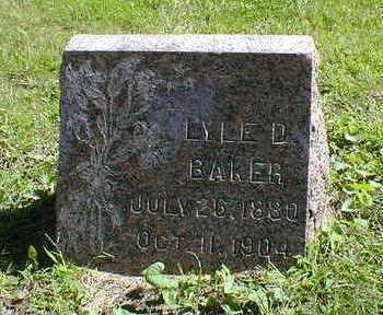 BAKER, LYLE D. - Cerro Gordo County, Iowa | LYLE D. BAKER