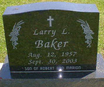 BAKER, LARRY L. - Cerro Gordo County, Iowa | LARRY L. BAKER