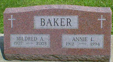 BAKER, MILDRED A. - Cerro Gordo County, Iowa | MILDRED A. BAKER