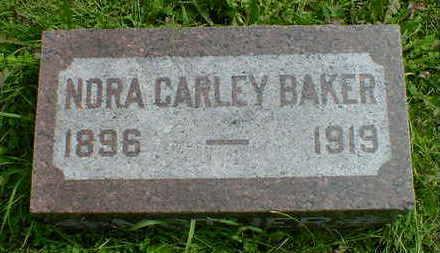 BAKER, NORA CARLEY - Cerro Gordo County, Iowa | NORA CARLEY BAKER