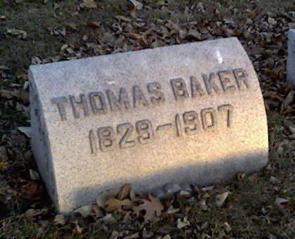 BAKER, THOMAS - Cerro Gordo County, Iowa | THOMAS BAKER