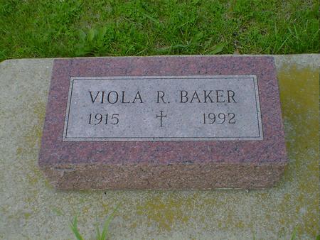 BAKER, VIOLA R. - Cerro Gordo County, Iowa | VIOLA R. BAKER