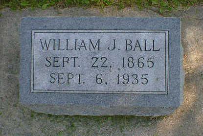 BALL, WILLIAM J. - Cerro Gordo County, Iowa | WILLIAM J. BALL