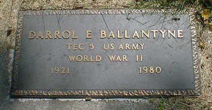 BALLANTYNE, DARROL E. - Cerro Gordo County, Iowa | DARROL E. BALLANTYNE