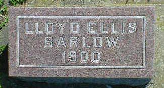 BARLOW, LLOYD ELLIS - Cerro Gordo County, Iowa   LLOYD ELLIS BARLOW