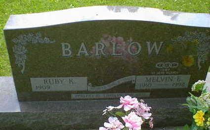 BARLOW, MELVIN E. - Cerro Gordo County, Iowa | MELVIN E. BARLOW