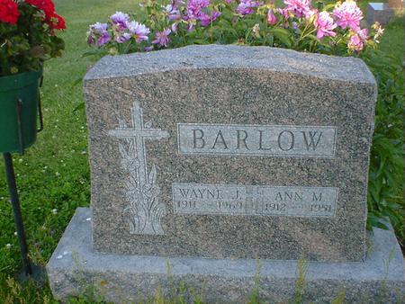 BARLOW, ANN M. - Cerro Gordo County, Iowa | ANN M. BARLOW