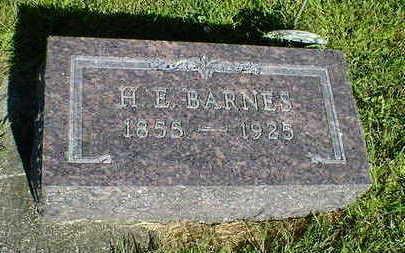 BARNES, H. E. - Cerro Gordo County, Iowa   H. E. BARNES