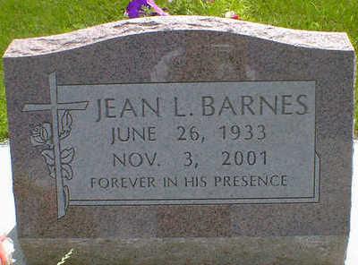 BARNES, JEAN L. - Cerro Gordo County, Iowa   JEAN L. BARNES