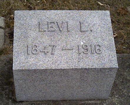 BARNUM, LEVI - Cerro Gordo County, Iowa   LEVI BARNUM