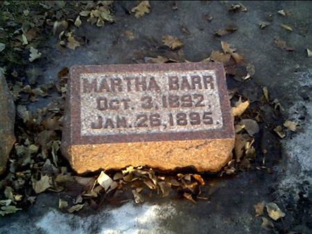 BARR, MARTHA - Cerro Gordo County, Iowa | MARTHA BARR