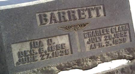 BARRETT, CHARLES - Cerro Gordo County, Iowa | CHARLES BARRETT