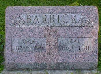 BARRICK, CAL - Cerro Gordo County, Iowa | CAL BARRICK