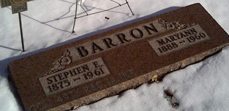 BARRON, STEPHEN - Cerro Gordo County, Iowa | STEPHEN BARRON