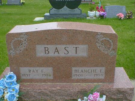 BAST, BLANCHE E. - Cerro Gordo County, Iowa | BLANCHE E. BAST