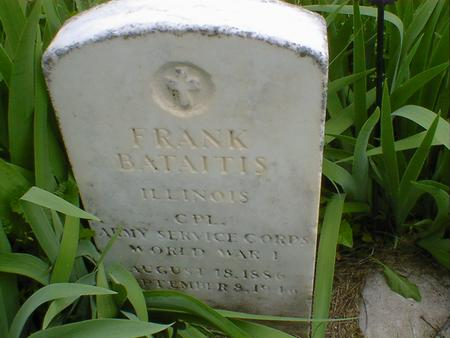 BATAITIS, FRANK - Cerro Gordo County, Iowa   FRANK BATAITIS